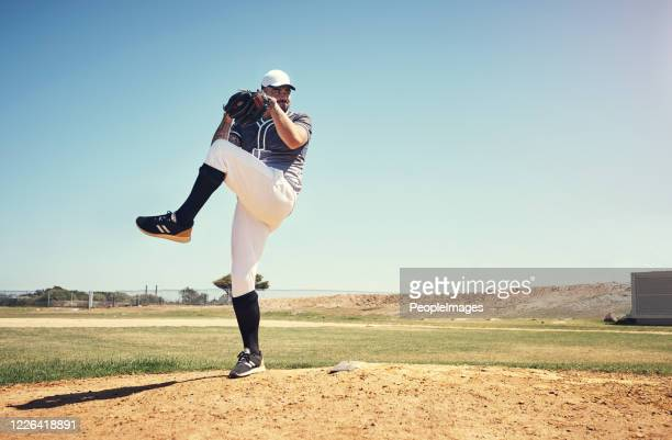 you can't coach this kind of skill - baseball pitcher stock pictures, royalty-free photos & images
