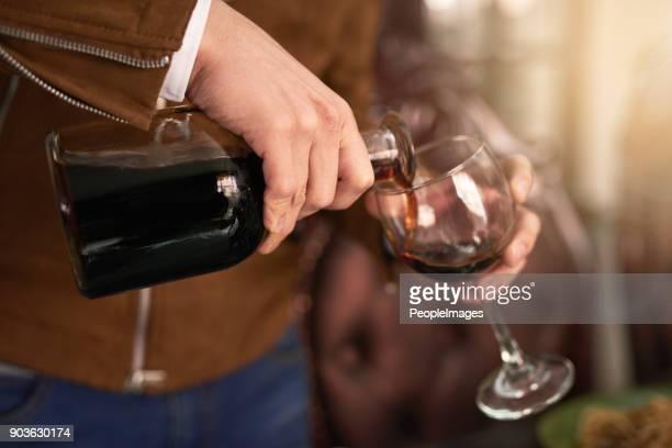 U kunt geen een echte diner partij zonder wijn
