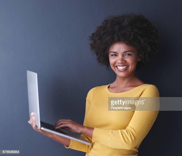 Je kunt niet zeggen laptop zonder een glimlach op je gezicht!