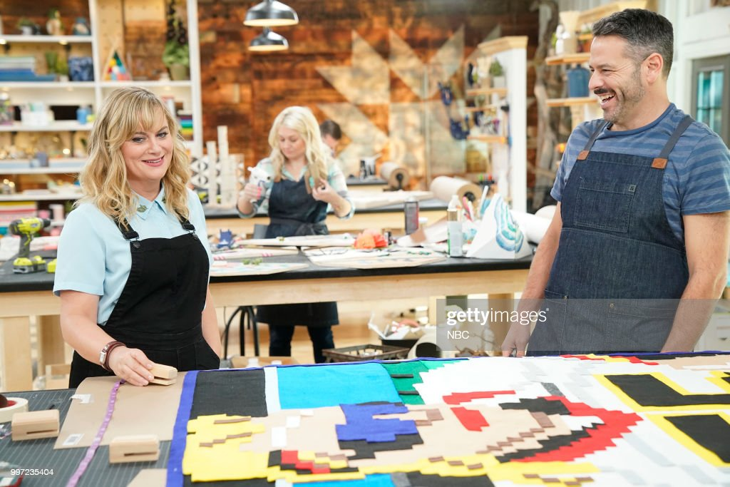 IT -- 'You Crafty' Episode 101 -- Pictured: (l-r) Amy Poehler, Billy --