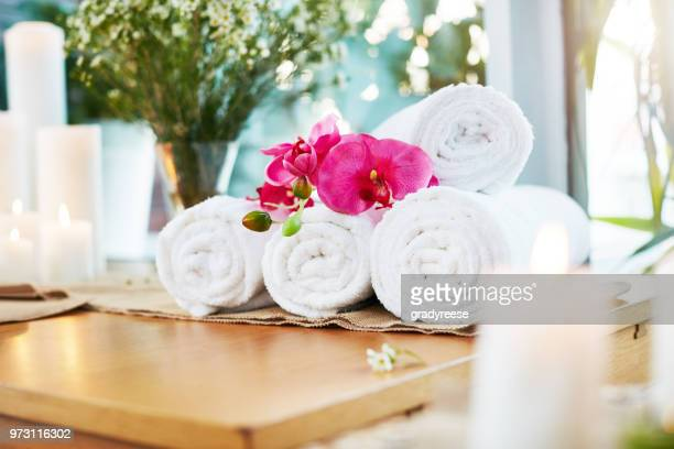 you deserve some pampering - tidy room stock pictures, royalty-free photos & images