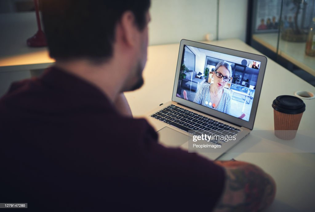 You don't have to feel disconnected thanks to modern technology : Stock Photo