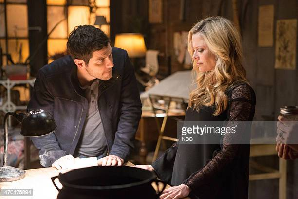 GRIMM 'You Don't Know Jack' Episode 420 Pictured David Giuntoli as Nick Burkhardt Claire Coffee as Adalind Schade