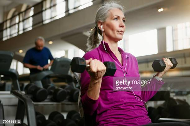 you got this at any age - weight training stock pictures, royalty-free photos & images