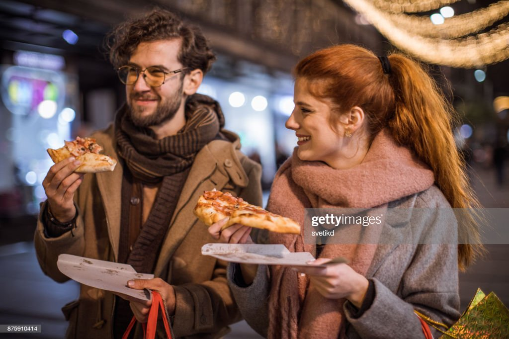 You had me at pizza : Stock Photo