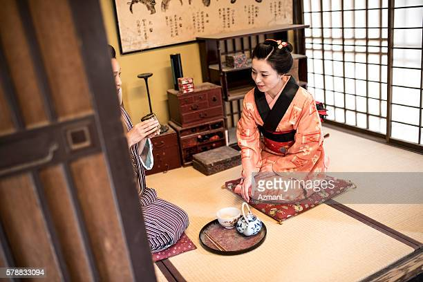 You make the best tea in Kyoto