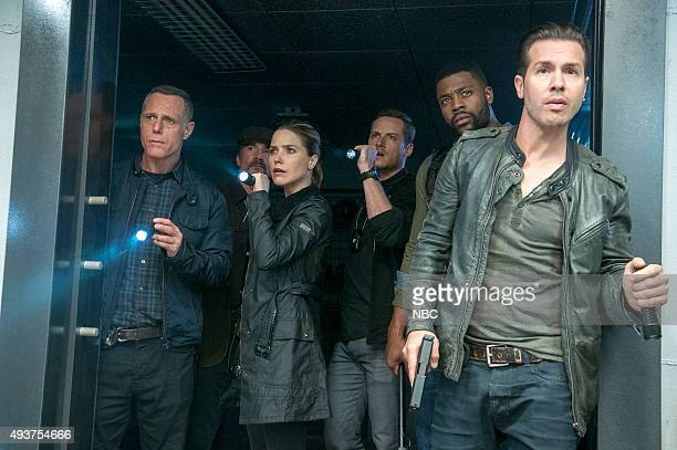 D You Never Know Who's Who Episode 306 Pictured Jason Beghe as Hank Voight Sophia Bush as Erin Lindsay Jesse Lee Soffer as Jay Halstead Laroyce...