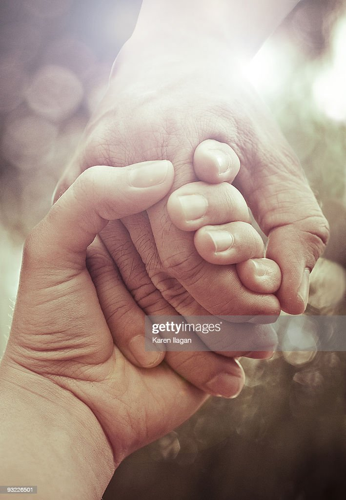 You Never Let Go : Stock Photo