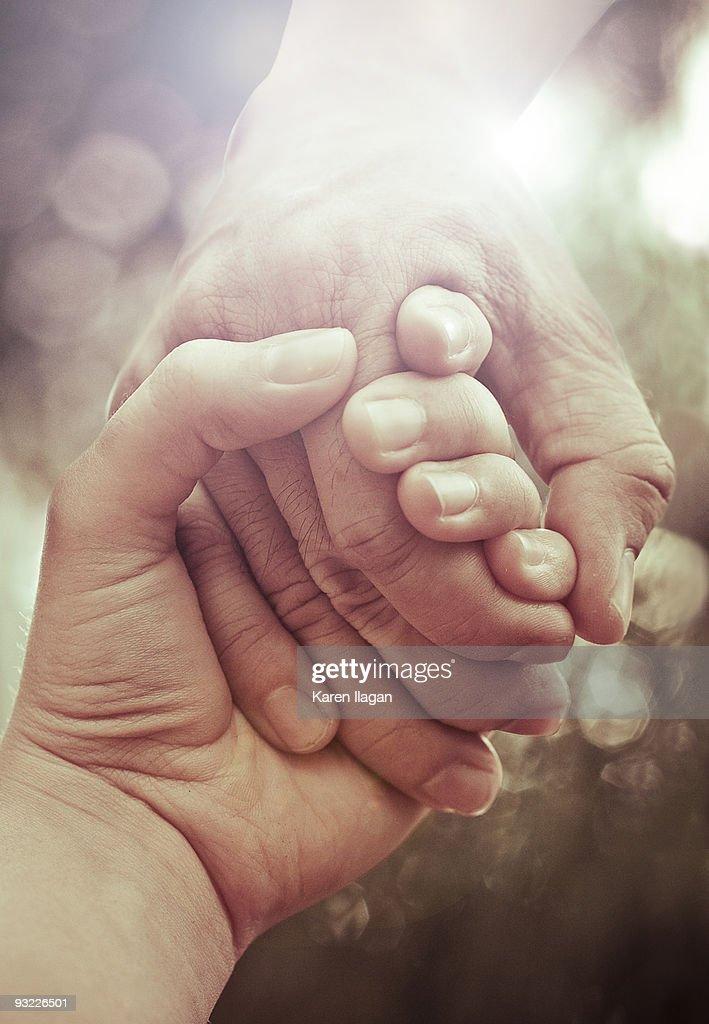 You Never Let Go : Foto de stock