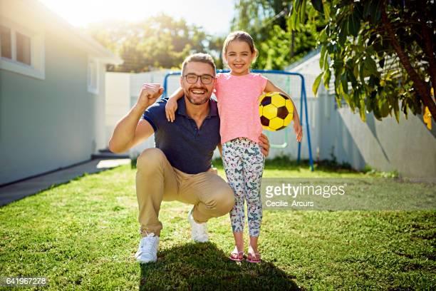 Sie sah den künftigen Fußball-Meister hier zuerst
