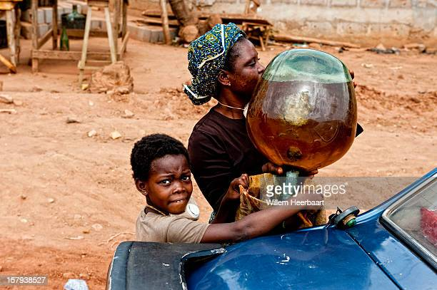 You see lot's of kids working on the streets, many times even much younger than this kid, just because everybody in the family needs to contribute...