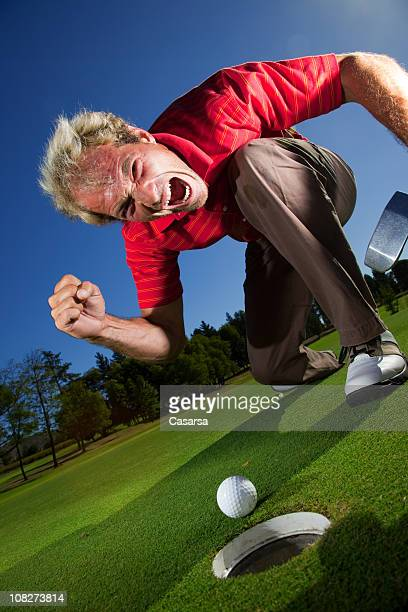 sie sollten in - golf lustig stock-fotos und bilder
