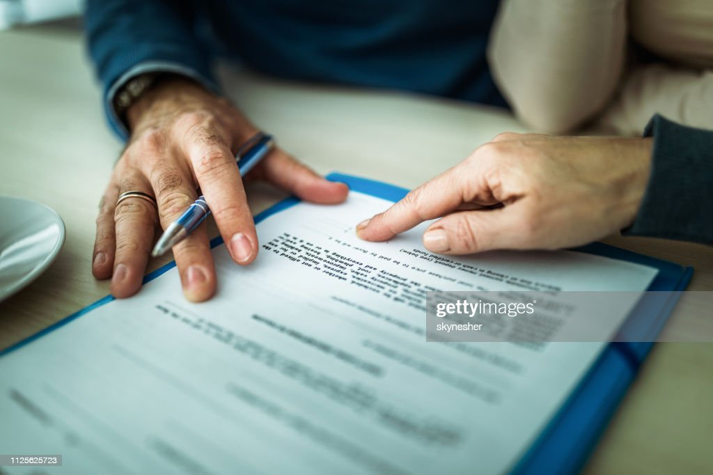 You should sign here! : Stock Photo
