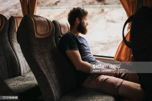 you should travel in luxury - pullman autobus foto e immagini stock