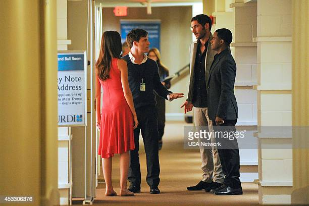 RUSH You Spin Me Around Episode 105 Pictured Odette Annable as Sarah Peterson Mike Doyle as Dr Griffin Wagner Tom Ellis as Dr William Rush Larenz...