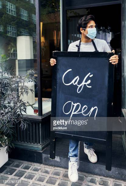 you take care of business, we'll handle the coffee - opening event stock pictures, royalty-free photos & images