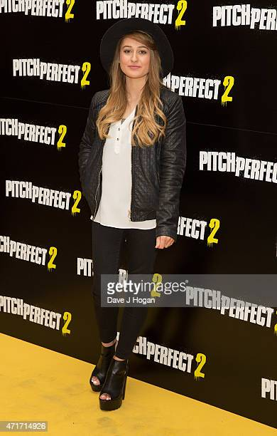 You Tube Personality Ebony Day Attends A Vip Screening Of Pitch Perfect 2 At