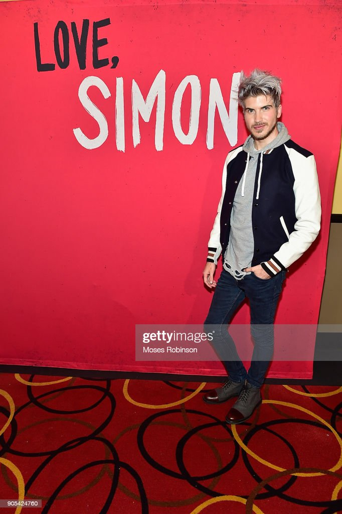 "YouTuber Joey Graceffa Introduces ""Love, Simon"" in Atlanta with Author Becky Albertalli and Actress Alexandra Shipp"