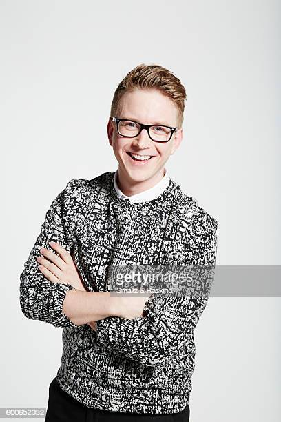 You Tube star Tyler Oakley is photographed for Wonderwall on April 11, 2016 in Los Angeles, California..