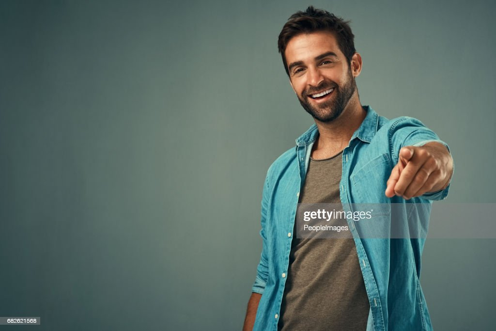 You'd be perfect! : Stock Photo