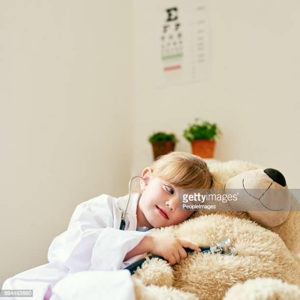 You'll get better soon, teddy
