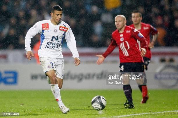 Younes BELHANDA Lille / Montpellier 30e journee Ligue 1 Stadium Nord Villeneuve d'Ascq