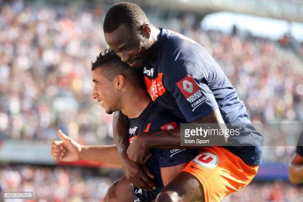 Younes BELHANDA / John UTAKA - - Montpellier / Rennes - 3eme journee de Ligue 1,