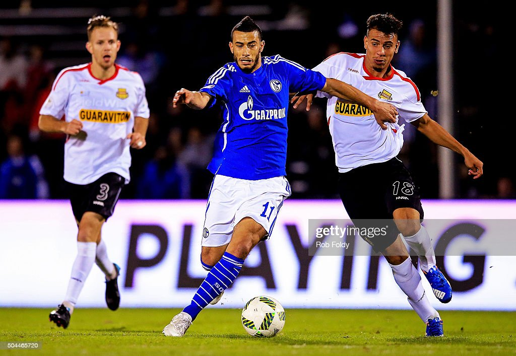 Younes Belhanda #11 of FC Schalke 04 in action during the match against the Fort Lauderdale Strikers at the ESPN Wide World of Sports Complex on January 10, 2016 in Kissimmee, Florida.