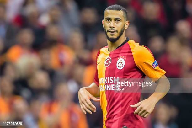 Younes Belhanda of Galatasaray AS during the UEFA Champions League group A match between Galatasaray AS and Real Madrid at Turk Telekom Stadyumu on...