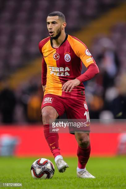Younes Belhanda of Galatasaray AS during the Ziraat Turkiye Kupasi match between Galatasaray AS and Caykur Rizespor AS at the Turk Telekom Stadyumu...