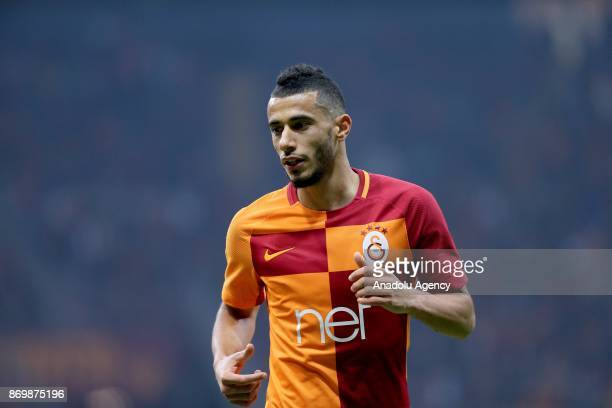 Younes Belhanda of Galatasaray during a Turkish Super Lig match between Galatasaray and Genclerbirligi at Ali Sami Yen Sports Complex in Istanbul...