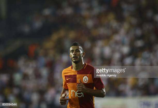 Younes Belhanda of Galatasaray is seen during Turkish Super Lig soccer match between Osmanlispor and Galatasaray at the Osmanli Stadium in Ankara...