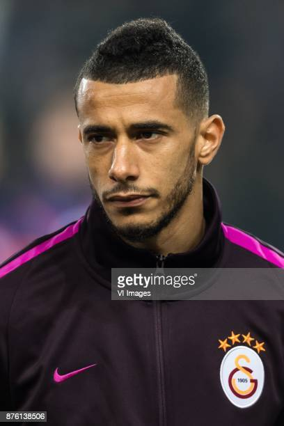 Younes Belhanda of Galatasaray SK during the Turkish Spor Toto Super Lig football match between Medipol Basaksehir FK and Galatasaray AS on November...