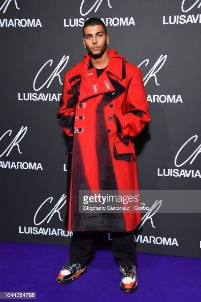 Younes Bendjima attends the CR Fashion Book x LuisaViaRoma Photocall as part of the Paris Fashion Week Womenswear Spring/Summer 2019 on October 1...
