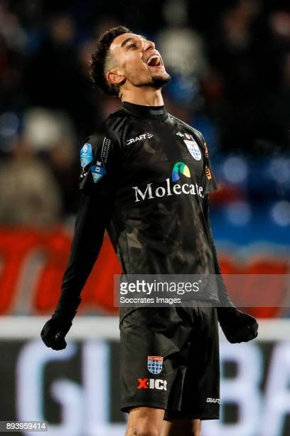 Younes Namli of PEC Zwolle during the Dutch Eredivisie match between Willem II v PEC Zwolle at the Koning Willem II Stadium on December 16 2017 in...