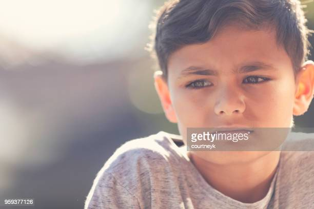young aboriginal boy portrait. - hungry stock pictures, royalty-free photos & images