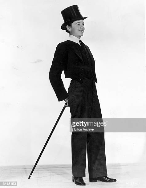 Young actor Freddie Bartholomew dressed up to the nines for the MGM film 'The Boy from Barnardo's' alternatively titled 'Lord Jeff' and directed by...
