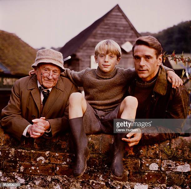Young actor Samuel Irons stars with his father Jeremy Irons and his grandfather Cyril Cusack in the film 'Danny The Champion Of The World' directed...