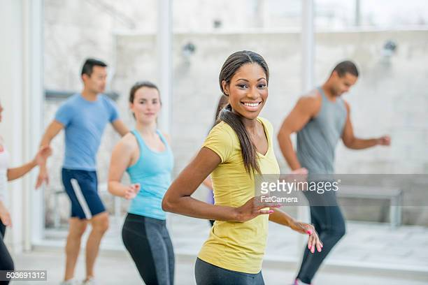 Young Adults Dancing at the Gym