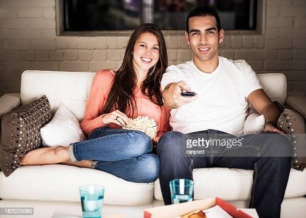 Junge Erwachsene Fernsehen