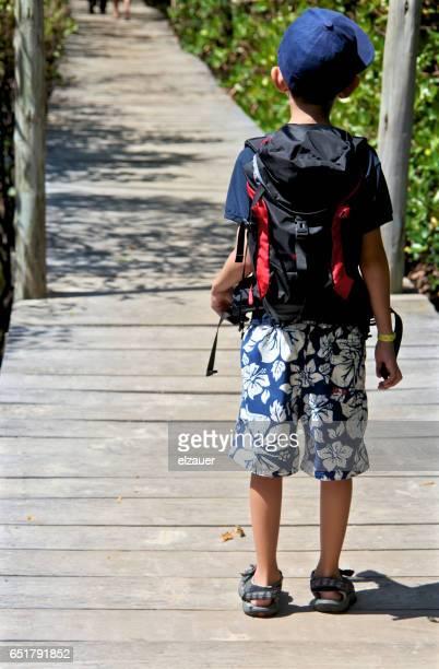 Young adventurer