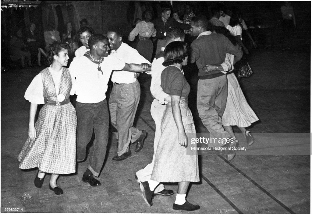 Young African Americans Square Dancing : News Photo