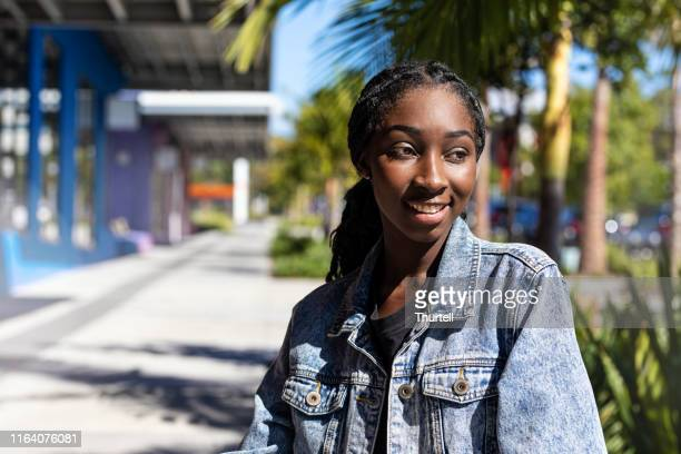 young african australian teenage girl - sudan stock pictures, royalty-free photos & images