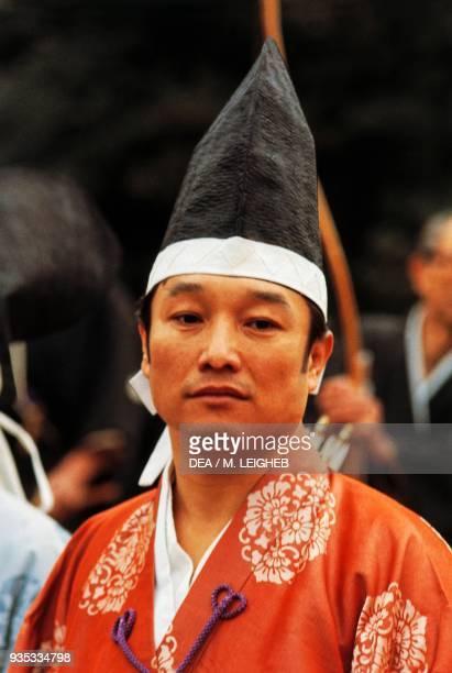 Young Ainu man Hokkaido Japan