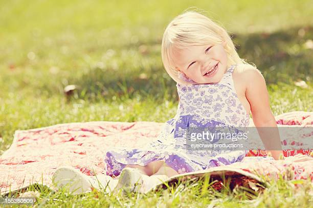 young american girl outdoors summer day - eyecrave stock pictures, royalty-free photos & images