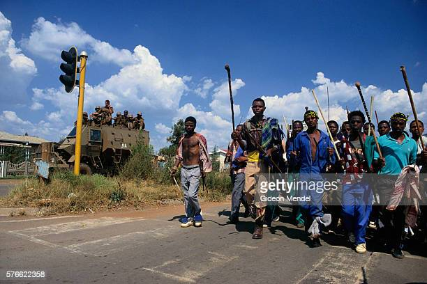 young anc supporters marching - south african military stock pictures, royalty-free photos & images
