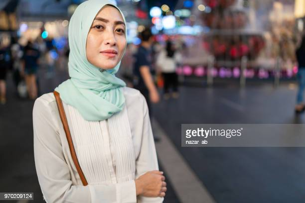 Young and confidence Muslim woman.
