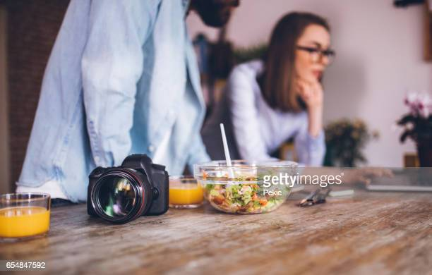 young and creative freelancers - design occupation stock pictures, royalty-free photos & images