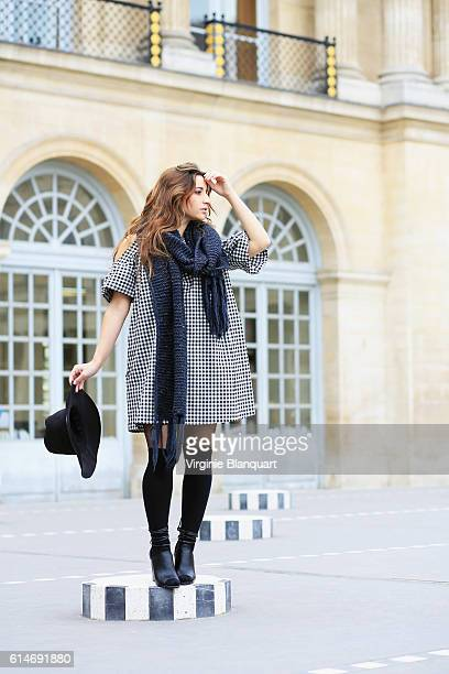 Young and gorgeous stylish parisian woman
