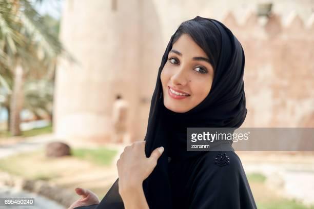 Jeune femme arabe